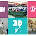Tips melawat Muzium 3D Trick Art Penang