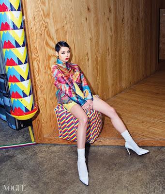 Cheetah - Vogue Magazine May Issue 2015