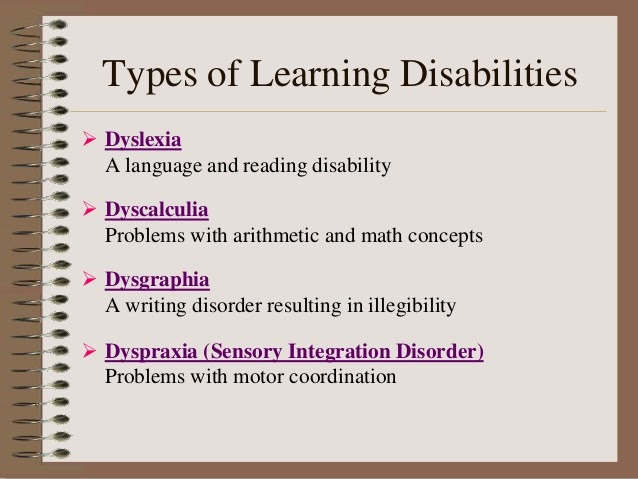 learning disability college essay Teaching children with learning disabilities from an early age, most people are able to interact with their environment, understand basic concepts, and develop strategies for daily problem solving.