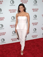 Eva Longoria hot in white