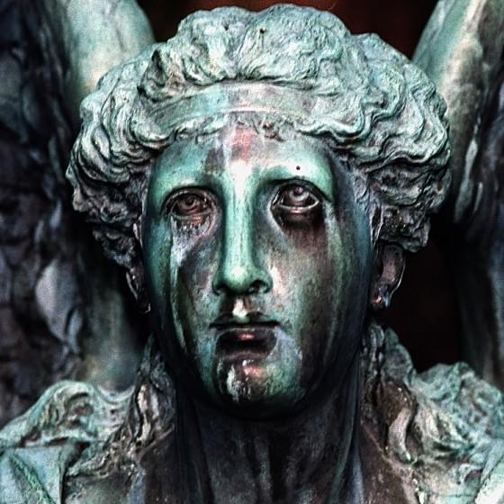 Cincinnati - Spring Grove Cemetery & Arboretum - Weeping Angel statue
