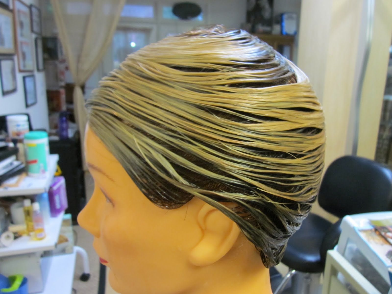 How to Wet Wrap Hair