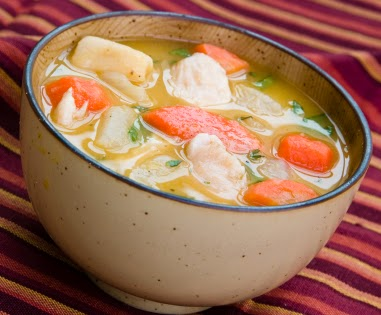 ... chicken soup to treat colds and flu. A wholenatural organic chicken