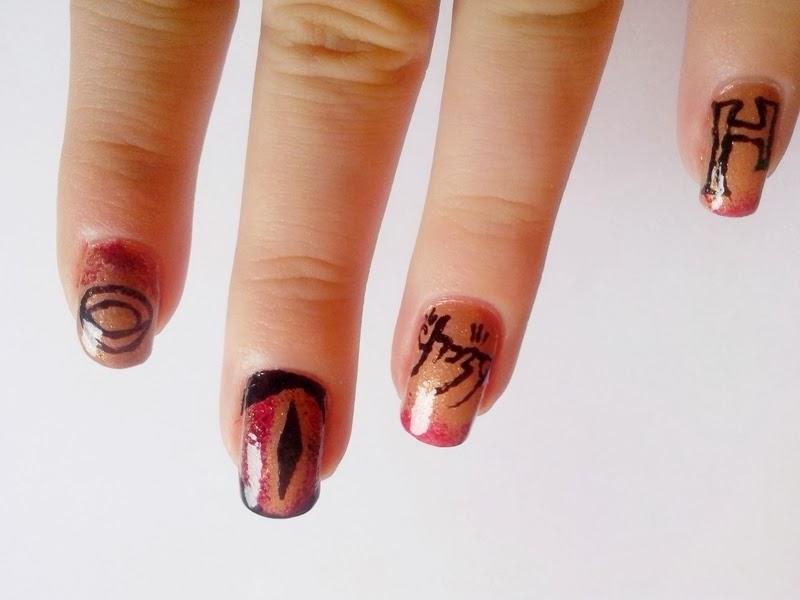 The hobbit nails lotr nails