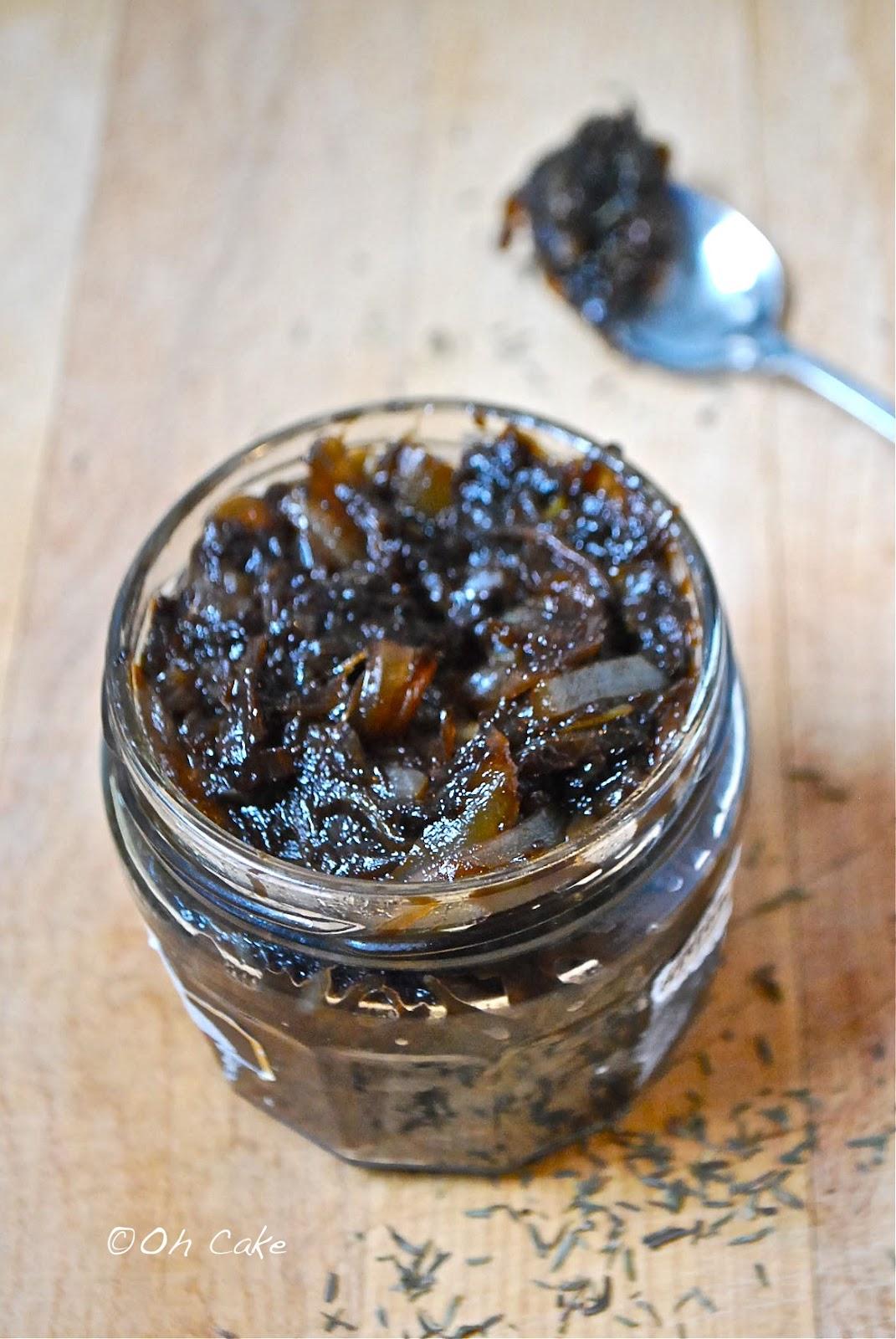 Oh Cake: Balsamic Onion Jam