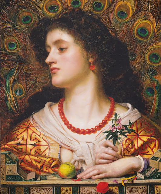 Vivien, Anthony Frederick Sandys, victorian painting