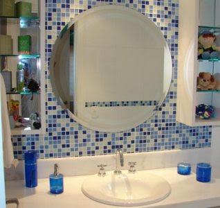 Imagens de Banheiros Decorados com Pastilhas
