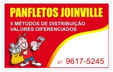 Visite Panfletos Joinville.