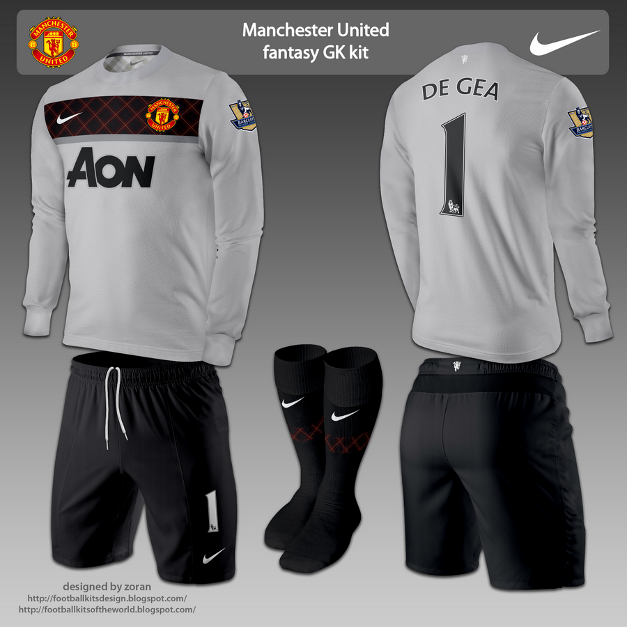 Manchester united fantasy goalkeeper kits