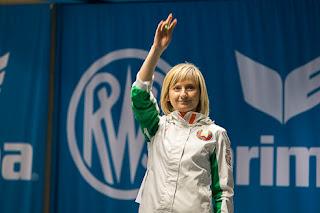 Viktoria Chaika - Bielorrússia - Pistola de Ar - Copa do Mundo de Carabina e Pistola 2013 - Tiro Esportivo