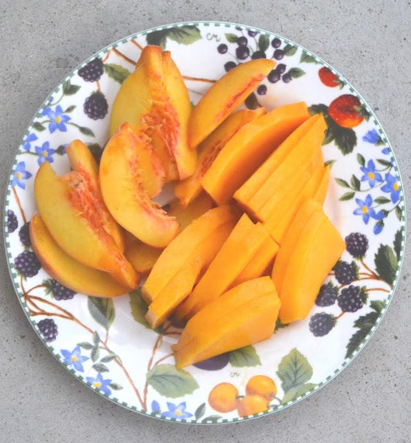 Chopped fruit