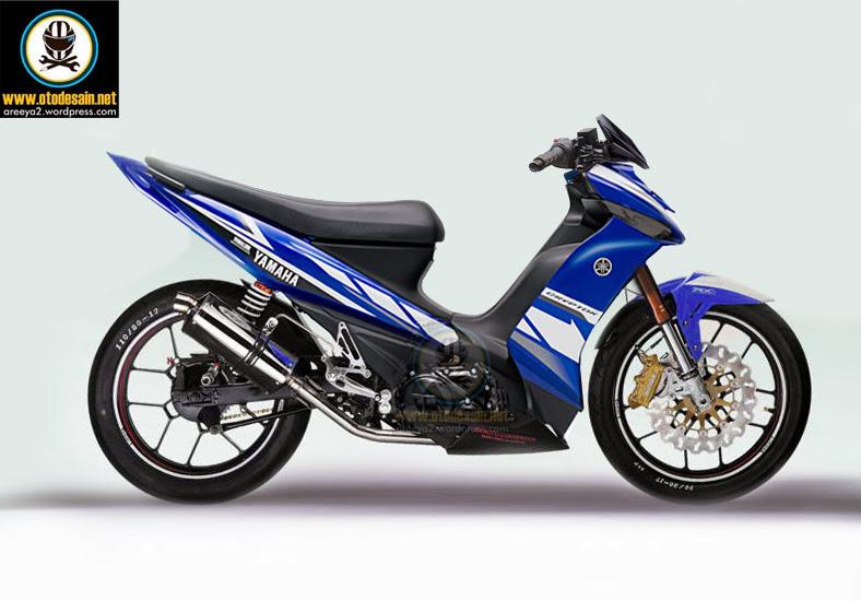 Modifikasi Motor Vega ZR Gambar Modif Yamaha Vega R ZR title=