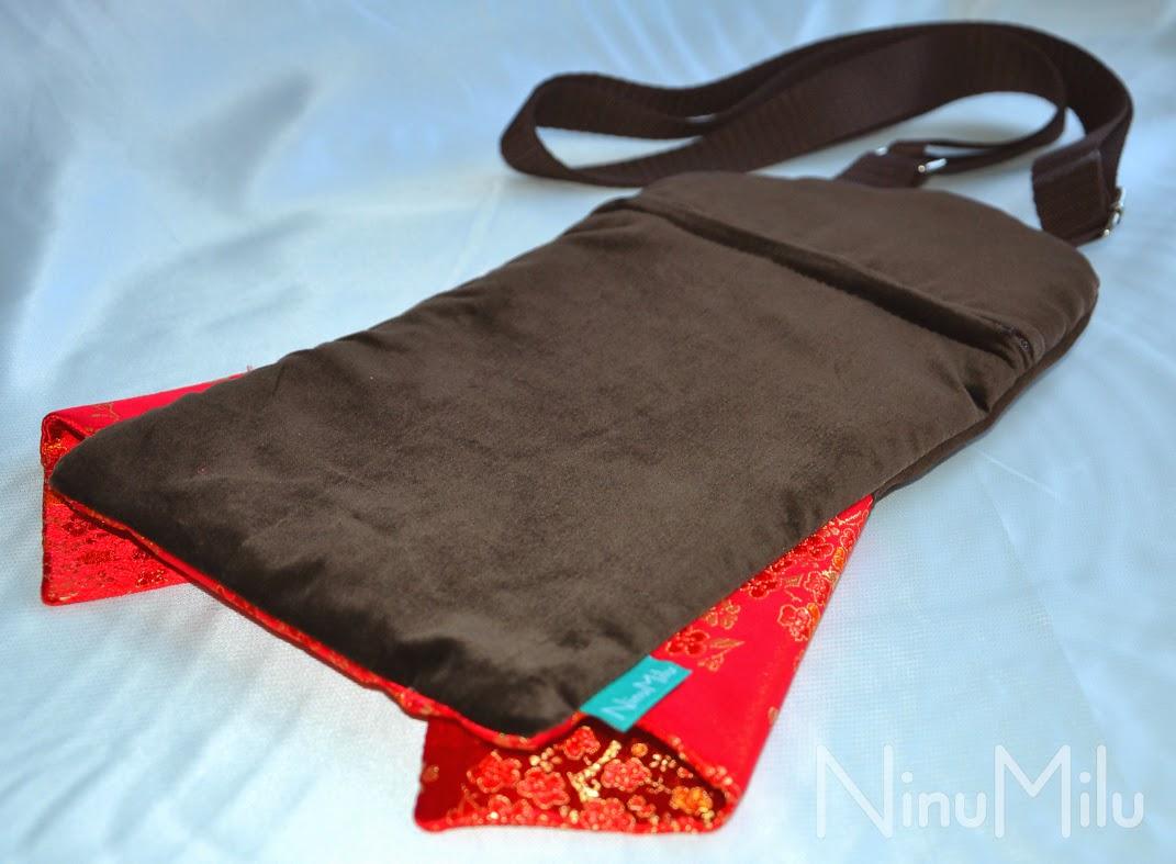 Lalka torebka japonka - tył