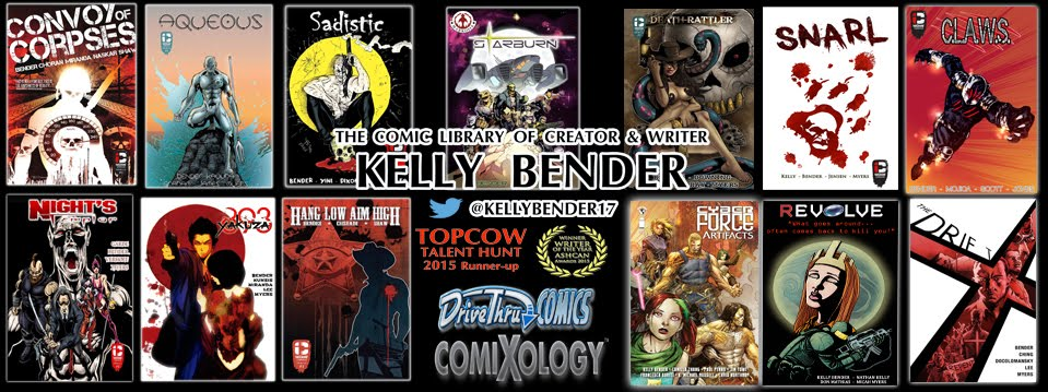 KELLY BENDER COMICS COLLECTION