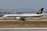 B777.212/ER, Singapore Airlines, 9VSVL. B777.212/ER, Singapore Airlines, . (vsvl sl)