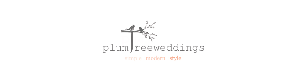 Plum Tree Weddings | Wedding blog featuring simple stylish modern wedding ideas