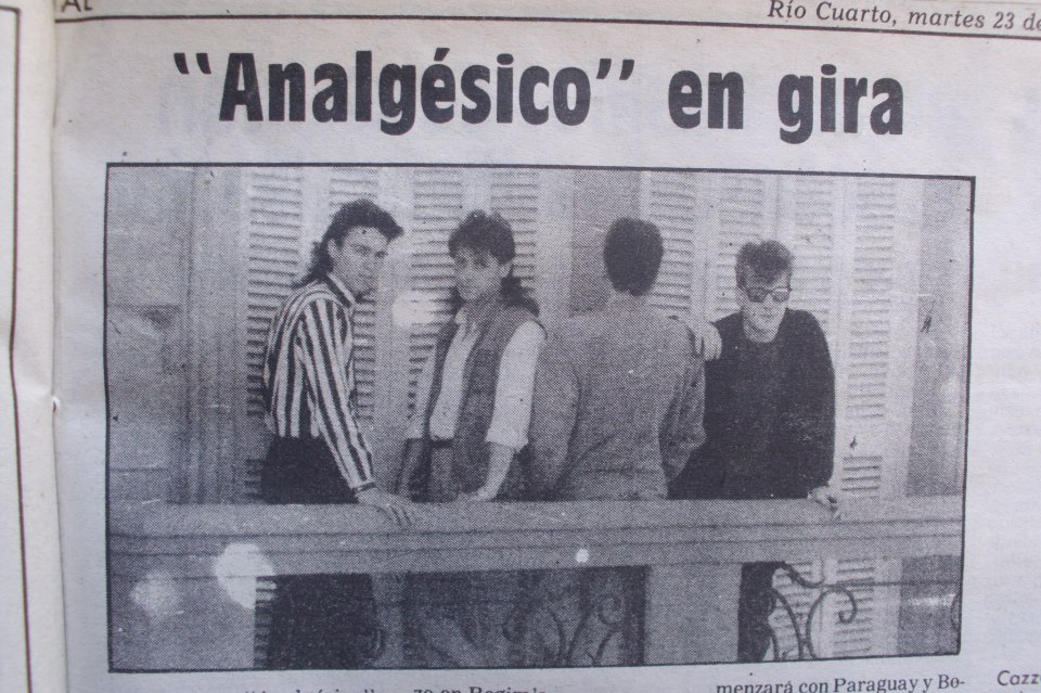 Proyecto Rock Río Cuarto: Analgésico en gira - Diario Puntal ...