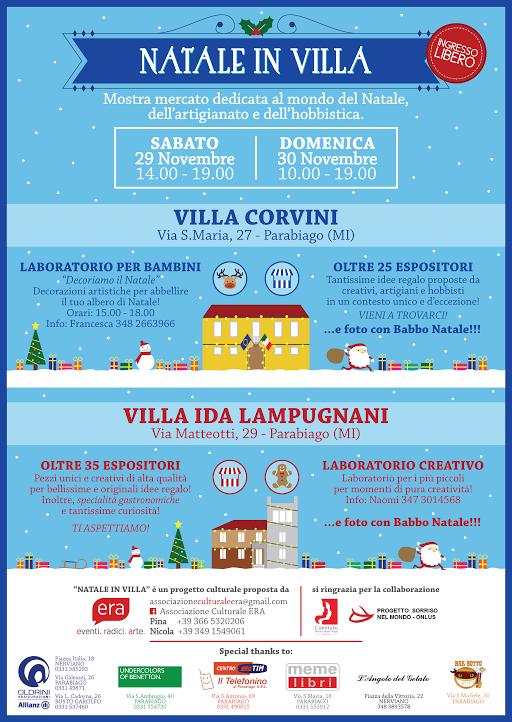 Villa Corvini Orari