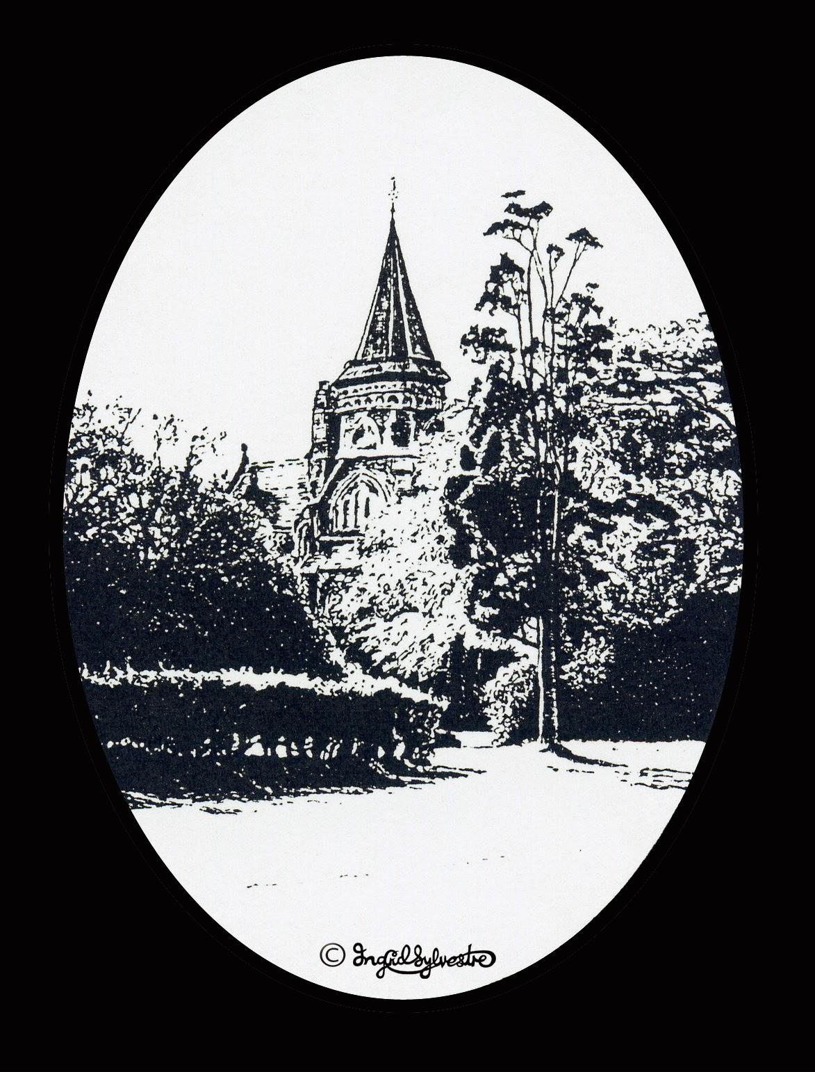 Grey Towers Nunthorpe Cleveland by artist Ingrid Sylvestre
