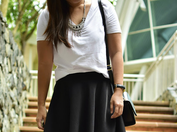 Outfit Diary : Classic combo | Girl with so many wish