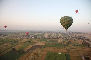 Egypt Balloon flight at Luxor