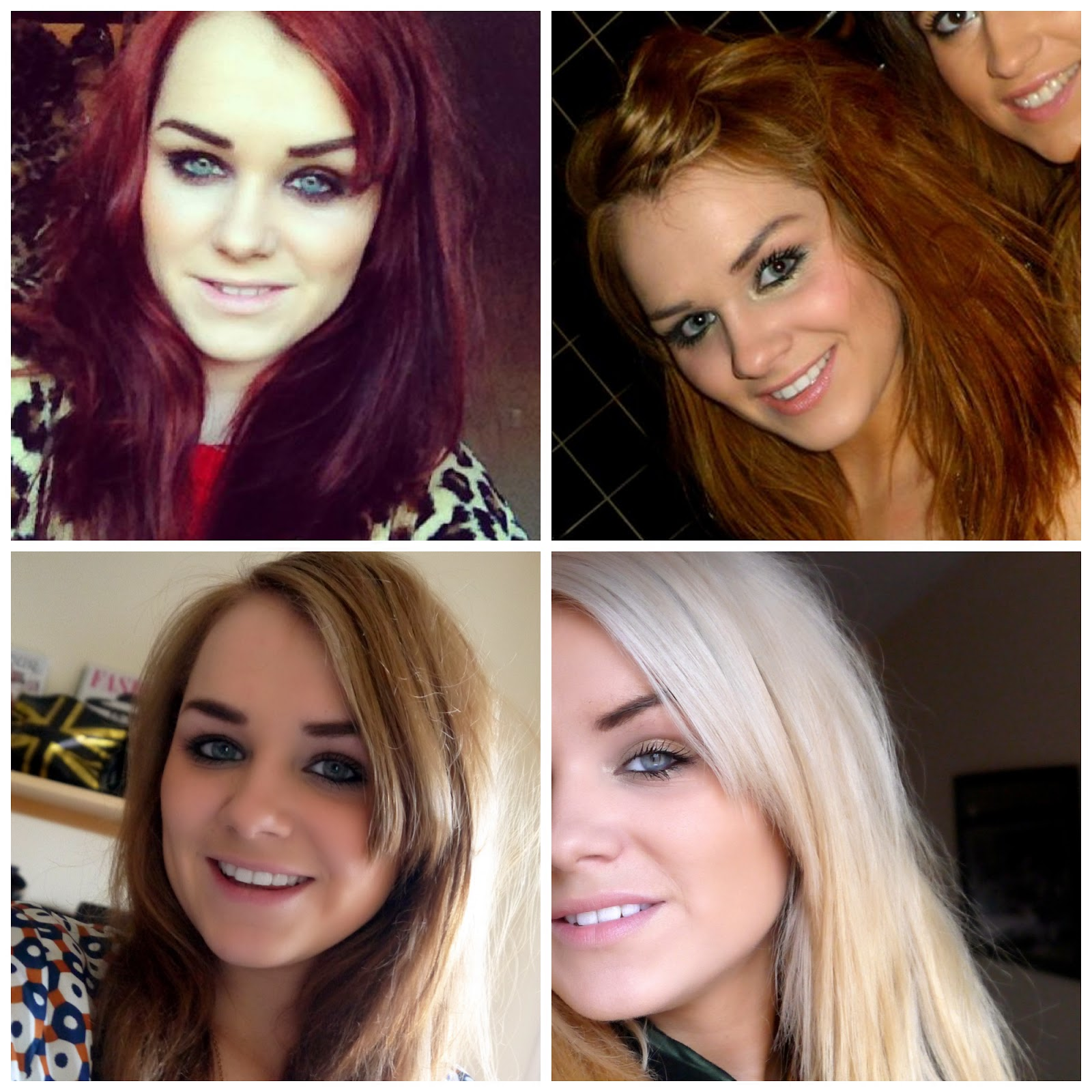 The hair from bright red to bright blonde good golly miss the hair from bright red to bright blonde urmus Images