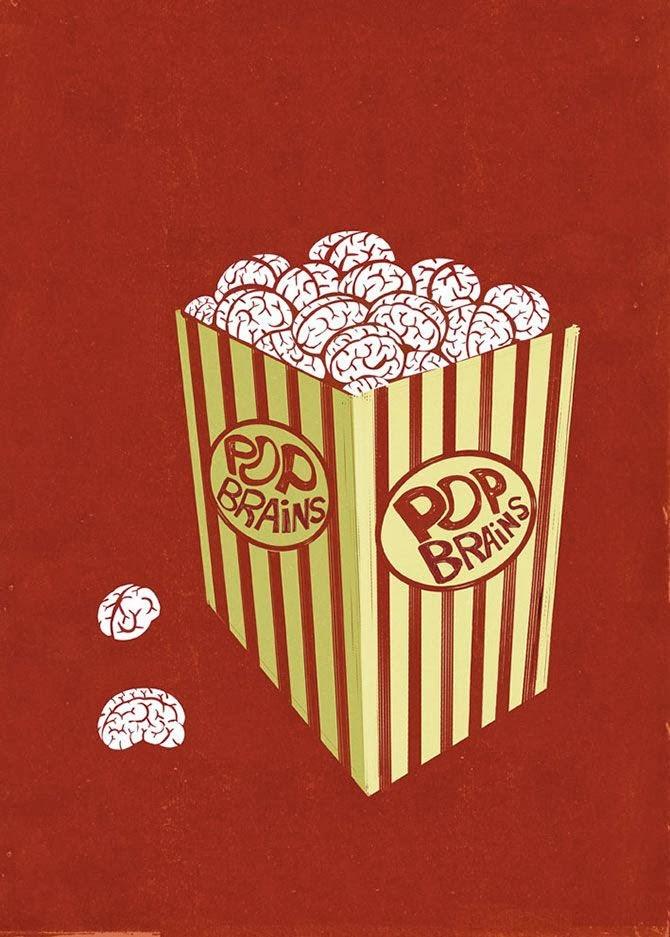 Ilustración de Alessandro Gottardo sobre cine