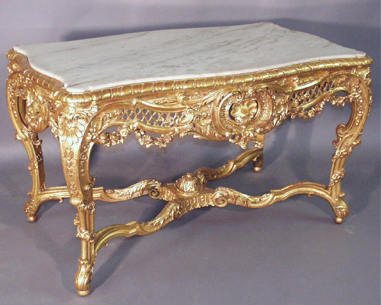 My Antique World French Rococo Style In Furniture