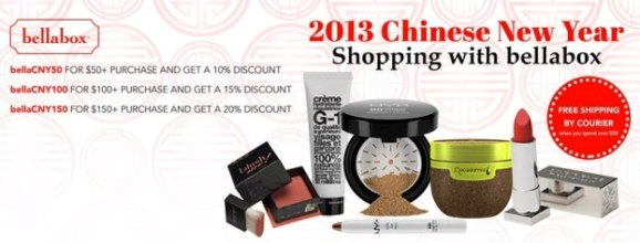 bellabox chinese new year shopping