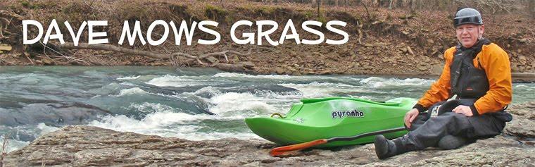 Dave Mows Grass