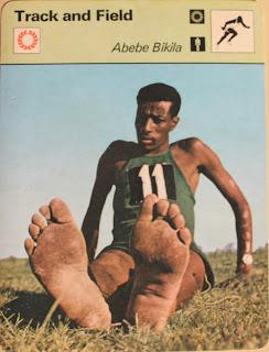 abebe bikila barefoot running marathon