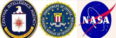 CIA, FBI, NASA