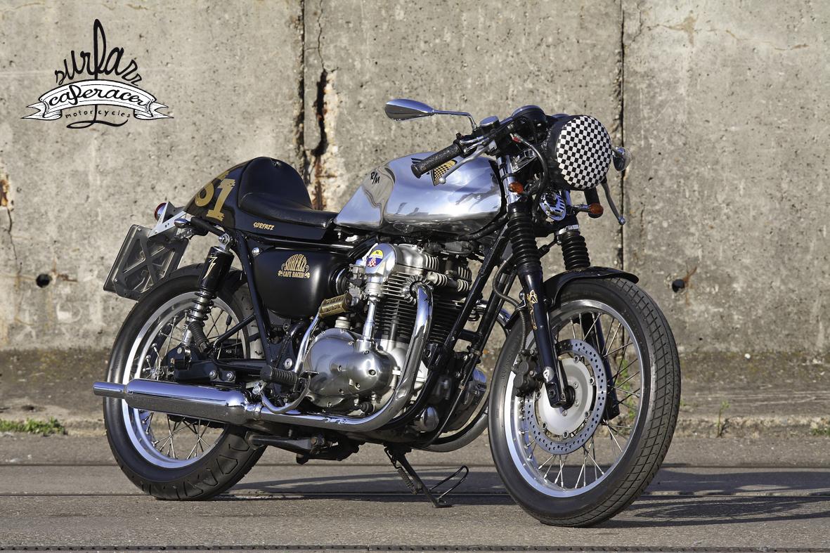 "Surfazz Cafe Racer / Rob's Bike W650 ""hot cafe"""
