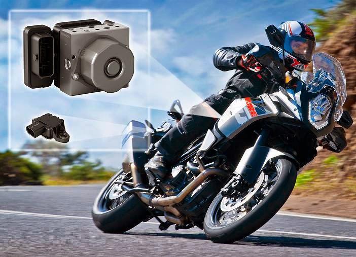 motosiklette güvenlik yeni teknolojilerle artıyor