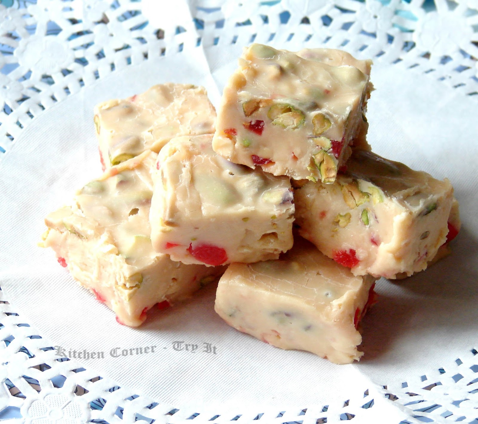 Ricotta Fudge With Dried Fruits, Nuts And Chocolate Recipe ...