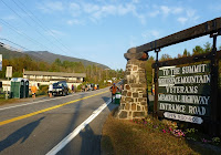 Downright balmy weather in Wilmington at the start of the Whiteface Mountain Uphill Footrace, Saturday, September 22, 2012.   The Saratoga Skier and Hiker, first-hand accounts of adventures in the Adirondacks and beyond, and Gore Mountain ski blog.