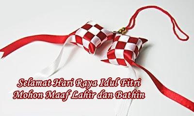 gambar ketupat merah putih