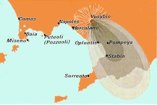 Pompeya: Erupción del Vesubio