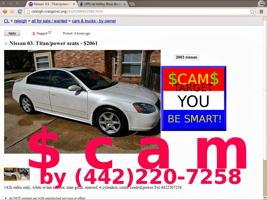 Http raleigh craigslist org cto 4346442568 html nissan 03 titan power seats 2061 by scammer at 442 220 7258