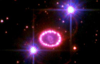 بررسی میدان مغناطیسی ابرنواختر ۱۹۸۷ای