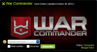hack war commander online free