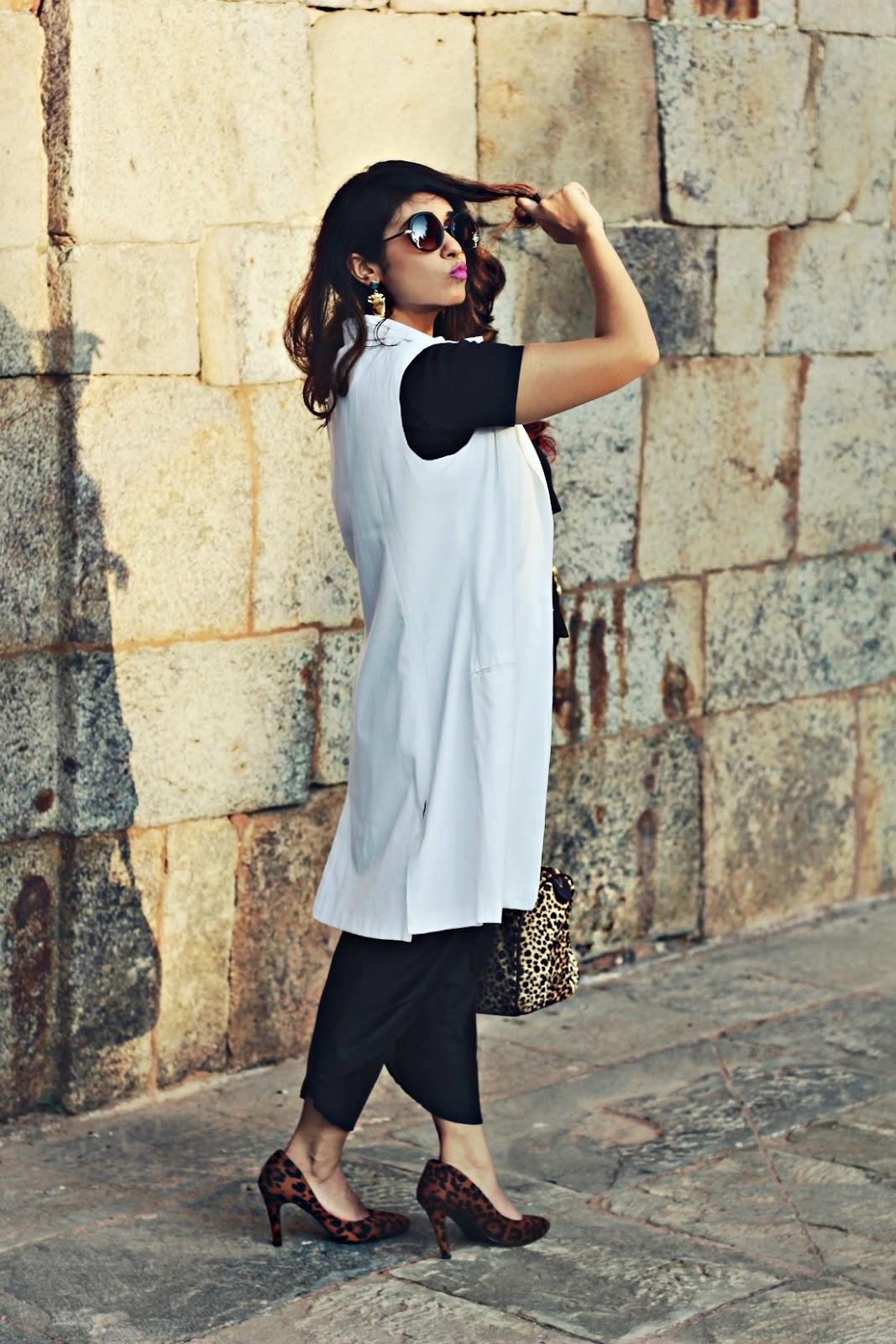 豹纹高跟鞋,印度时尚博客