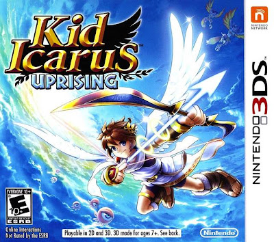 Kid Icarus: Uprising Box Art