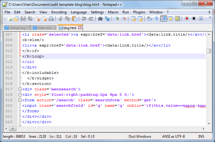 how to put margin in html notepad