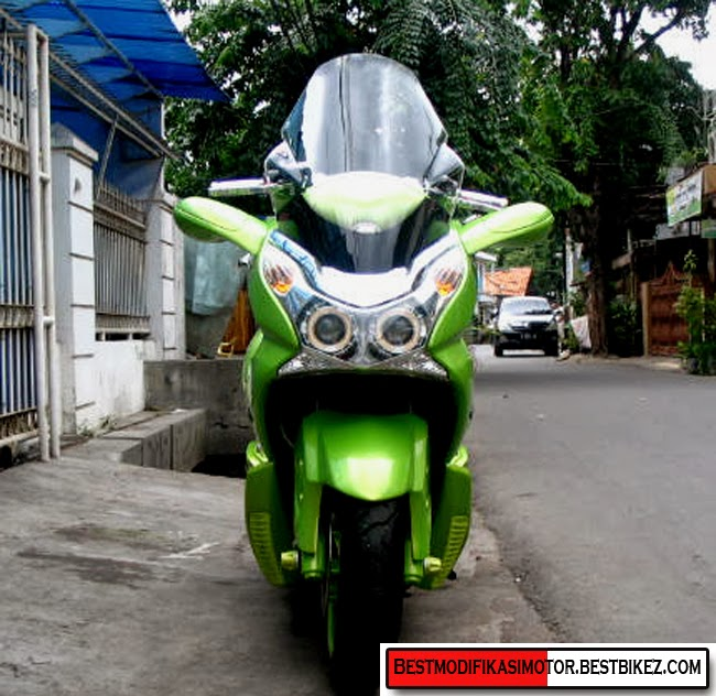 Foto Modifikasi Honda PCX 150