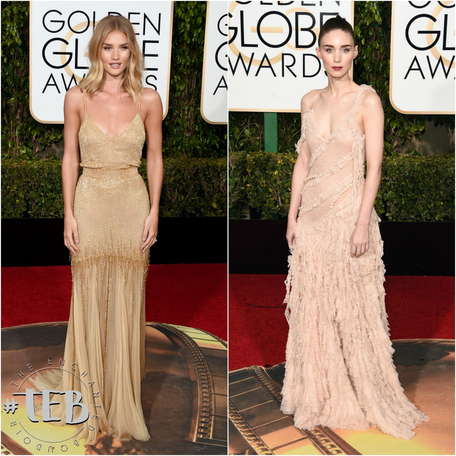 rosie huntington whiteley golden globes