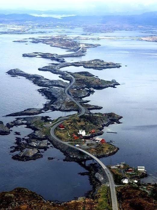 Rodovia Atlântica, Noruega