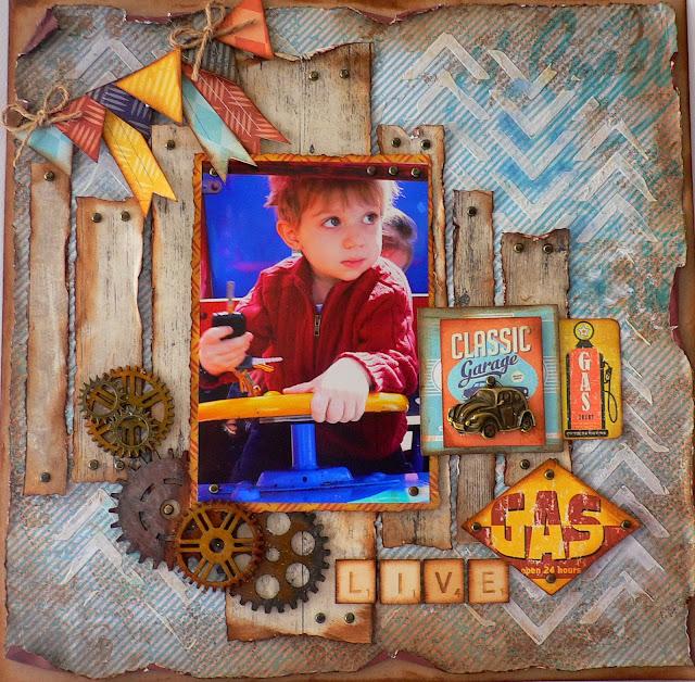Adriana bolzon ab inspirations garage days kaisercraft