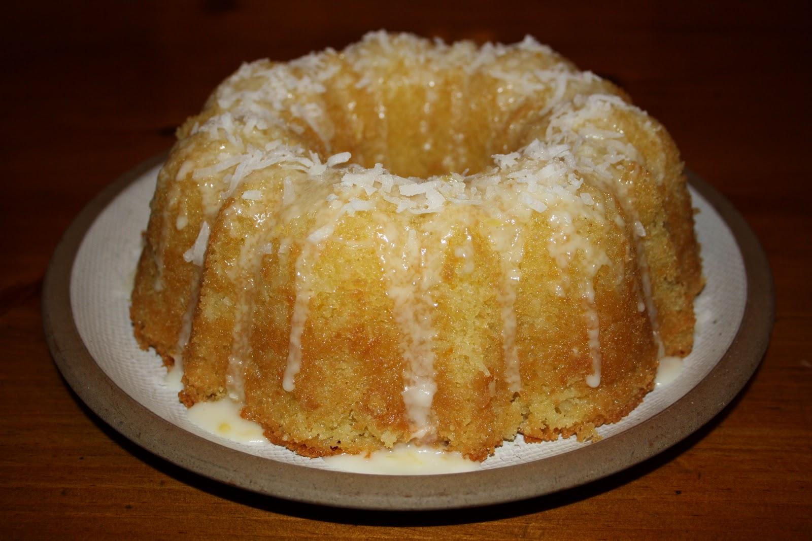 Food Fighters: Orange & Coconut Cake