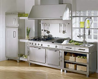 Stainless steel Kitchen: how to keep them shiny